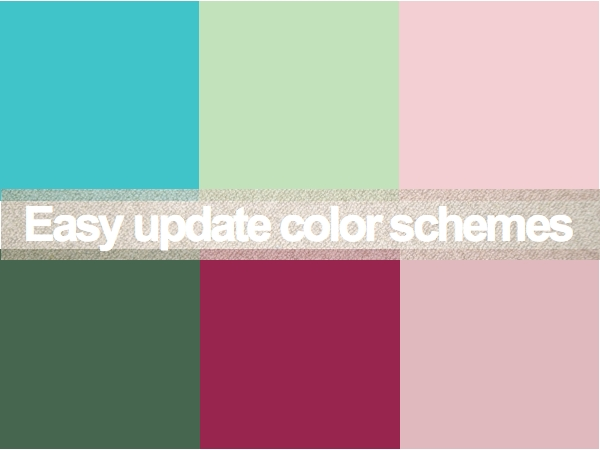 Easy Update Color Schemes