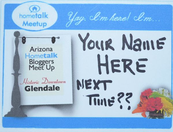 Hometalks next event in AZ