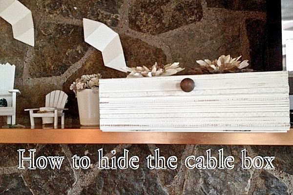 How to hide the cable box FP