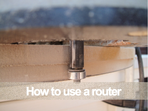 How to use a router