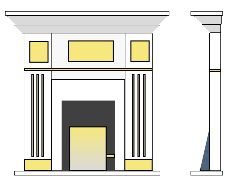 mantle drawing