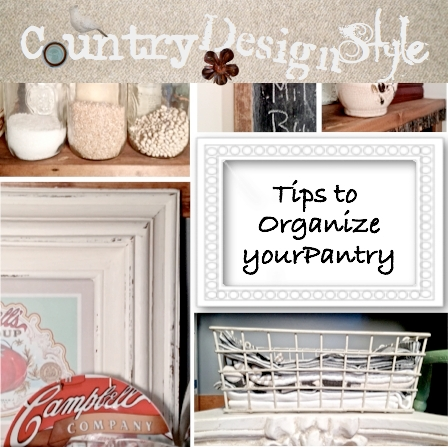 Tips to organize your pantry