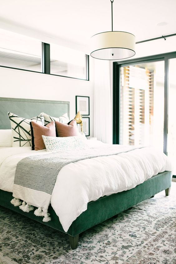 Dark Green Bedroom Ideas: Easy Update Color Schemes From The 80's & 90's