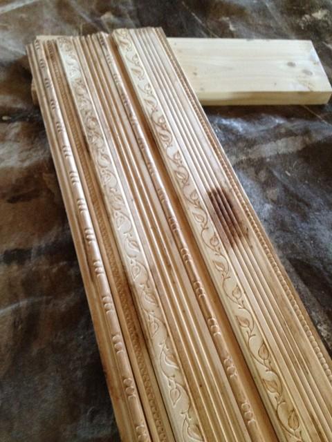 scrap wood aged