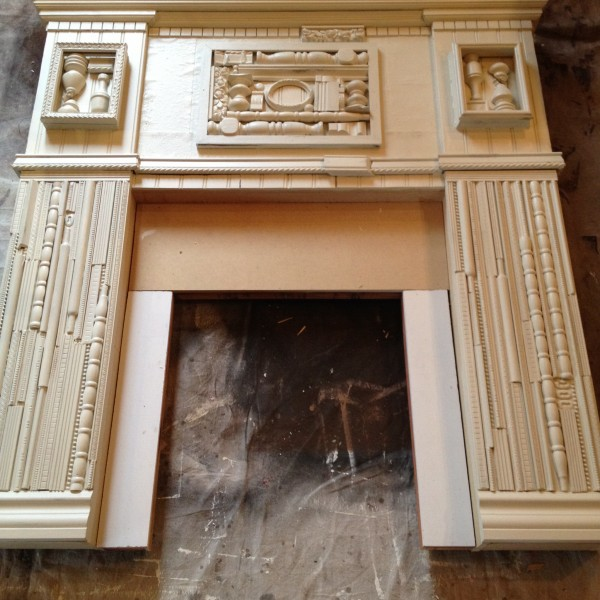 painted mantle