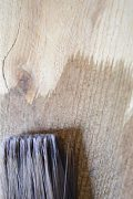 Aging wood instantly closeup