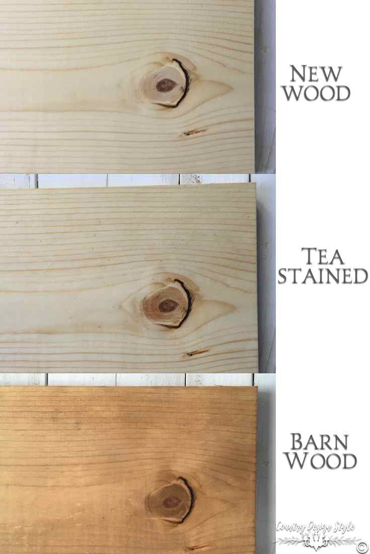 Aging wood to barn wood pn | Country Design Style | countrydesignstyle.com