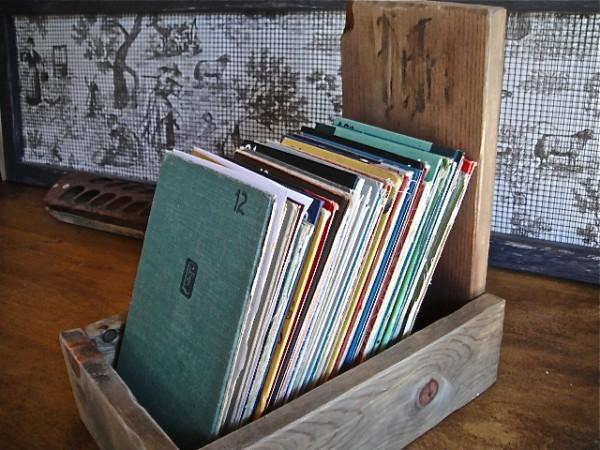 Farmhouse file box Country Design Style
