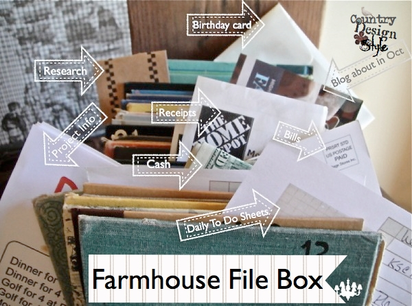 Farmhouse File Box