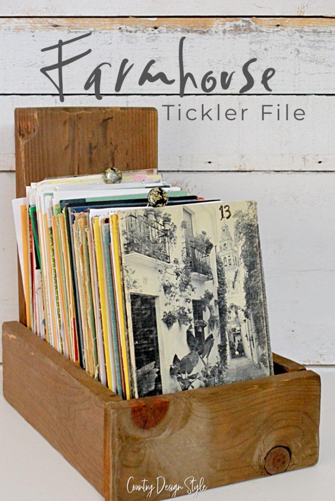 Farmouse tickle file system