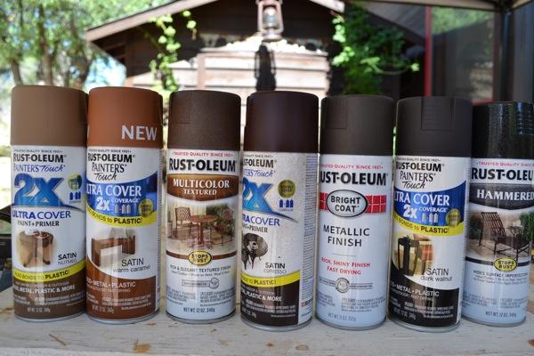 spray paint used