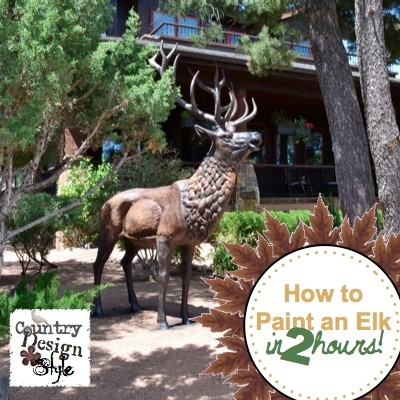 How to paint an elk in 2 hours