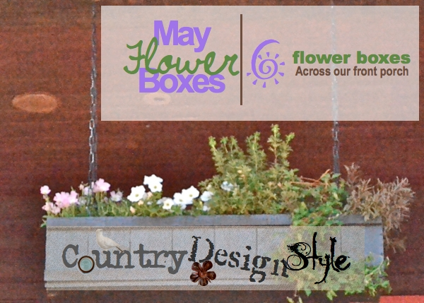 May Flower Boxes