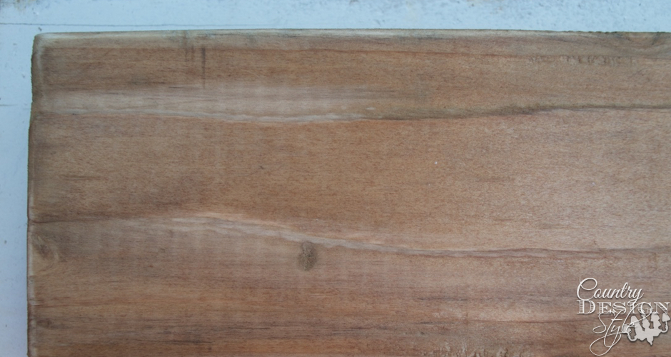 Sanded aged wood | Country Design Style | countrydesignstyle.com
