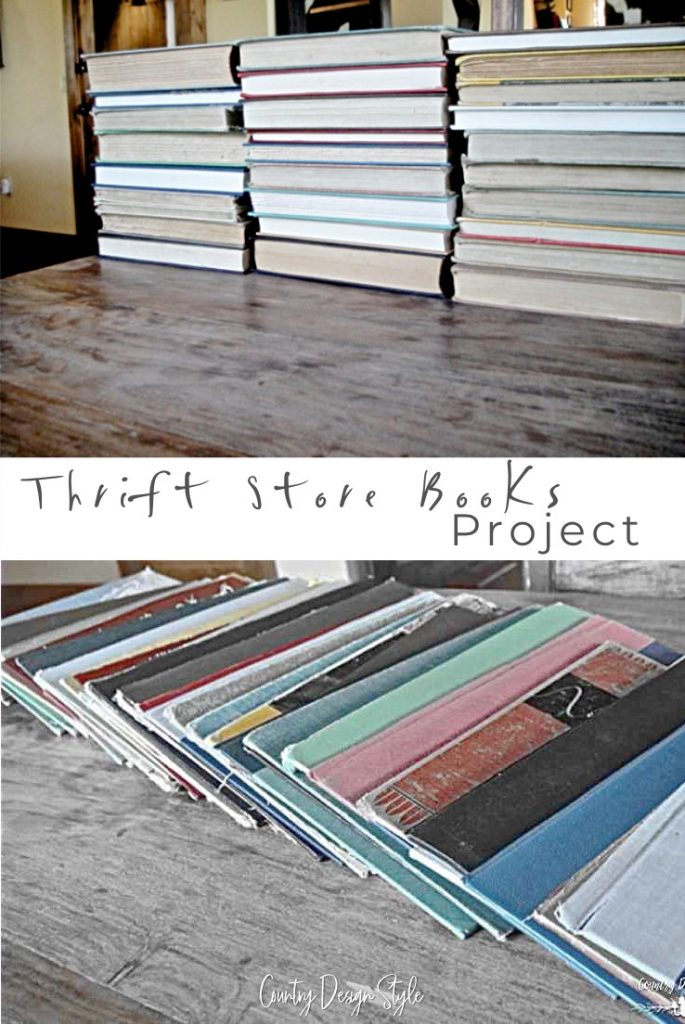Thrift store books tickler file