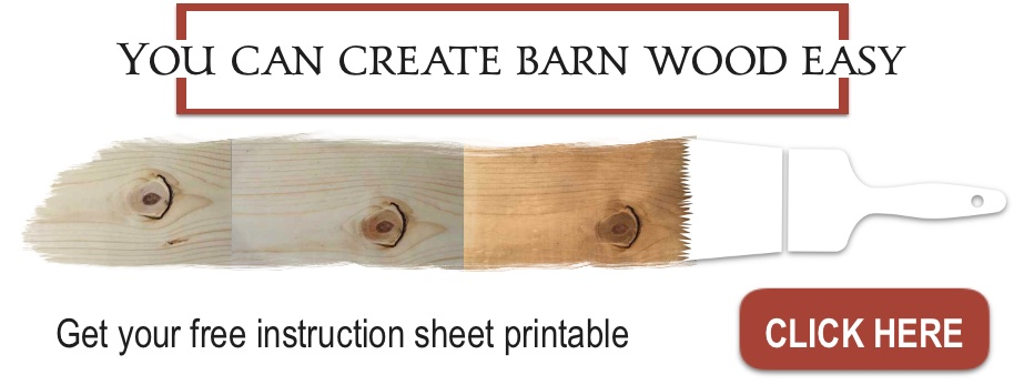 You can create barn wood easy2