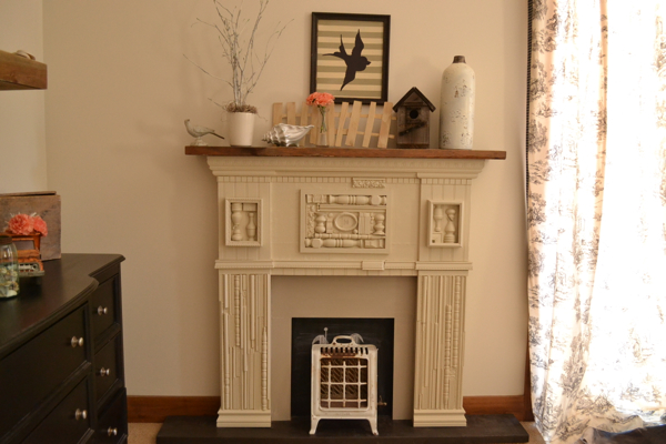Faux mantle Country Design Style