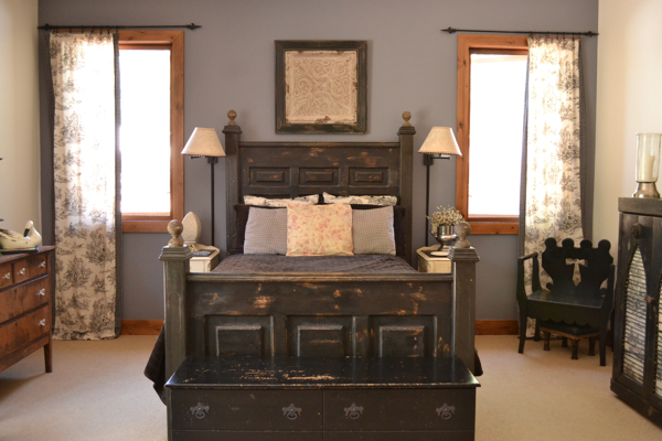 Our made bed Country Design Style
