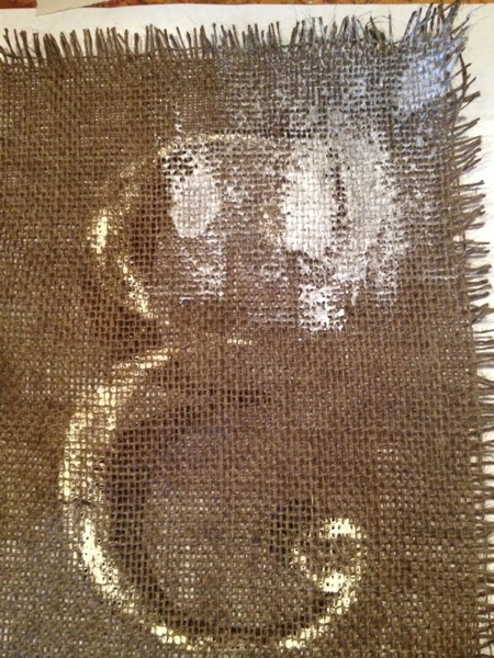 Aged Burlap Country Design Style-5