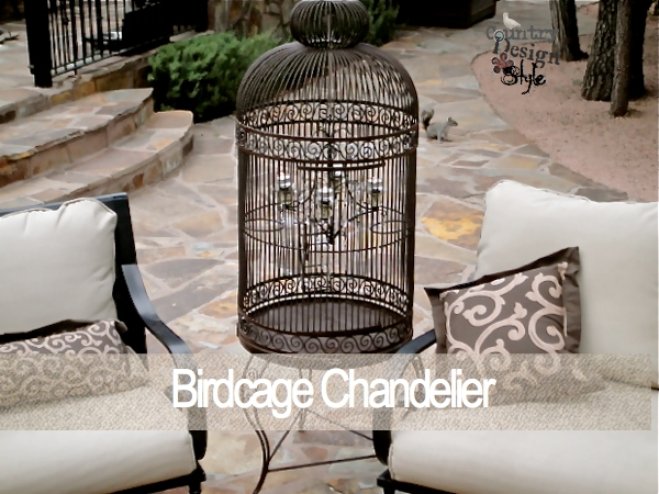 Knock off Birdcage Chandelier