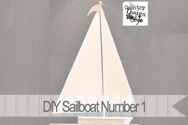 DIY Sailboat Number 1 Country Design Style FP3