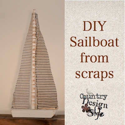 DIY Sailboat from Scraps 7 Country Design Style