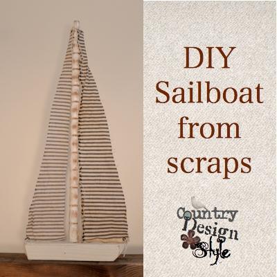DIY Sailboat From Scraps
