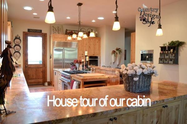 House tour of our cabin Country Design Style