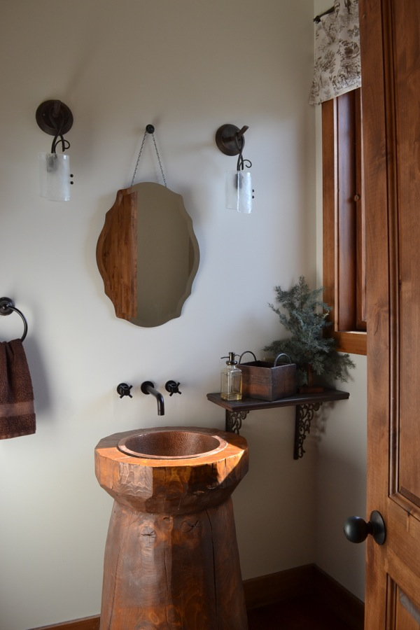 Powder room Country Design Style