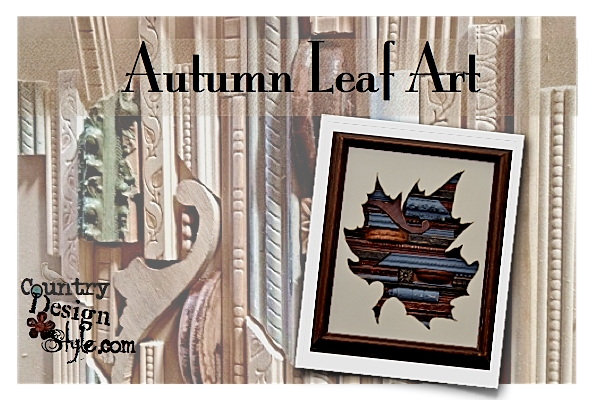 Autumn Leaf Art