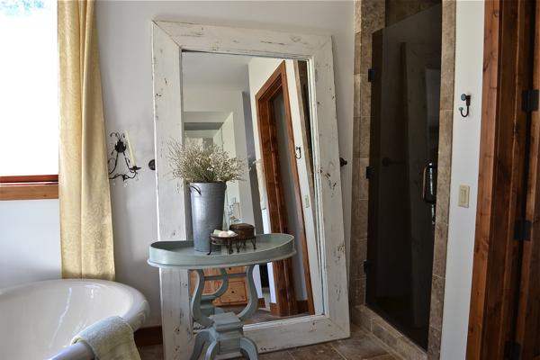 Floor Mirror Country Design