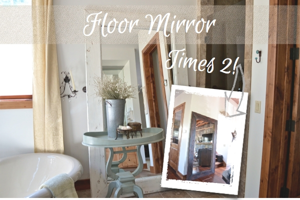 Floor Mirrors Country Design Style