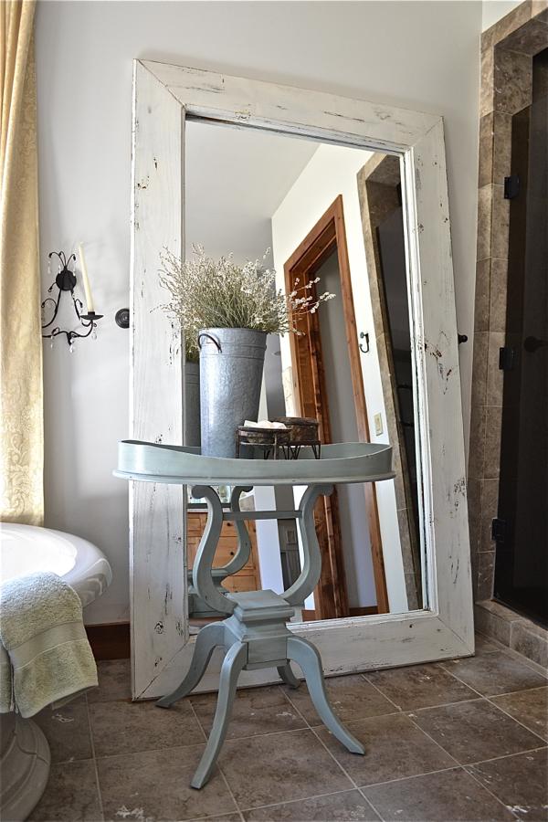 Floor Mirror Country Design Style
