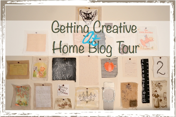 Getting Creative at Home Blog Tour {my favorite project}