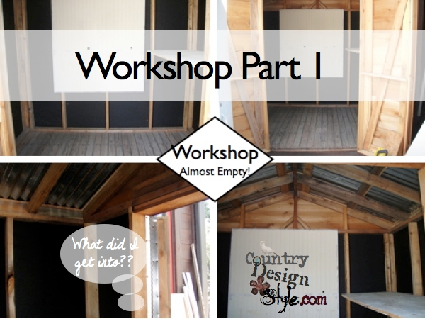 Workshop Series Part 1 what did I get into now