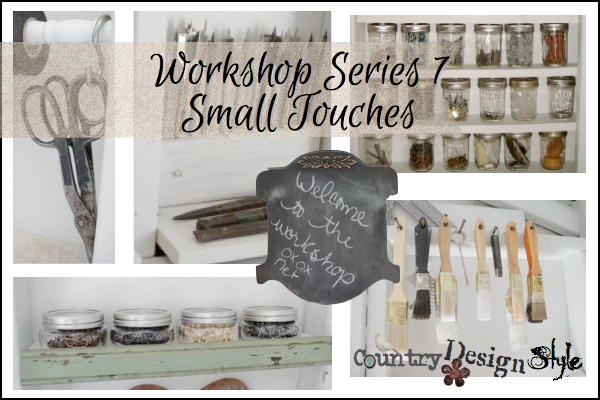 Workshop Series 7 Small Touches