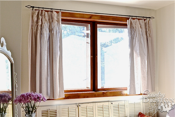hanging-drop-cloth-curtains-country-design-style