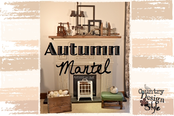 Autumn Mantel Country Design Style