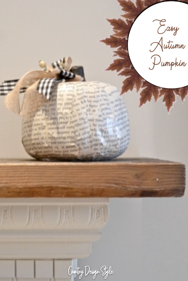 Easy Autumn Pumpkin