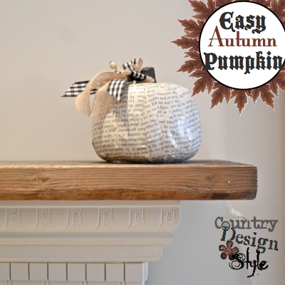 Easy Autumn Pumpkin SQ