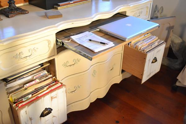 My repurposed desk Country Design Style-12