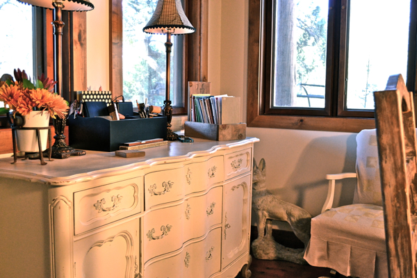 My repurposed desk Country Design Style-4