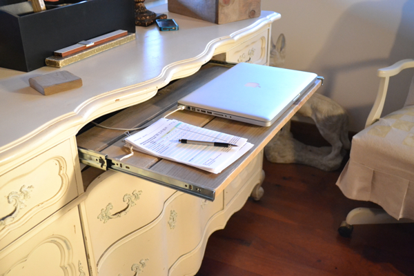 My repurposed desk Country Design Style-6