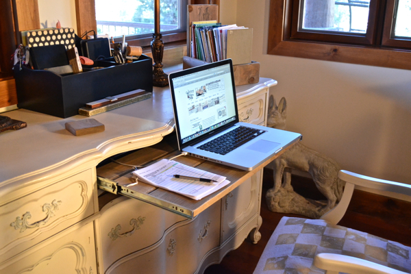My repurposed desk Country Design Style-7