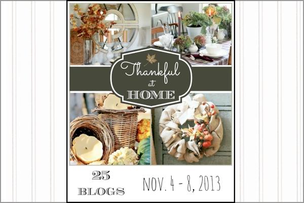 Thankful at Home Recap