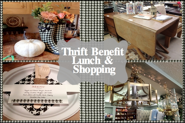 Thrift Benefit Lunch and Shopping