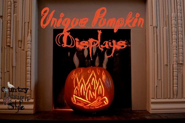 Unique Pumpkin Displays FP