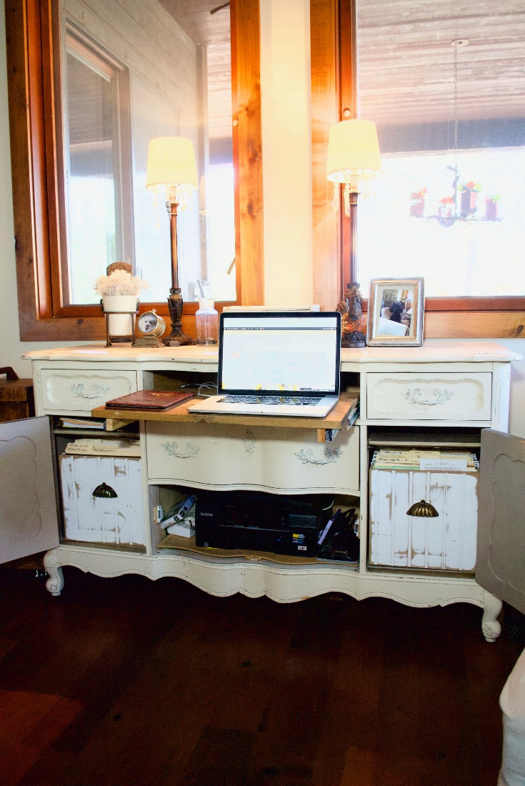 My repurposed desk