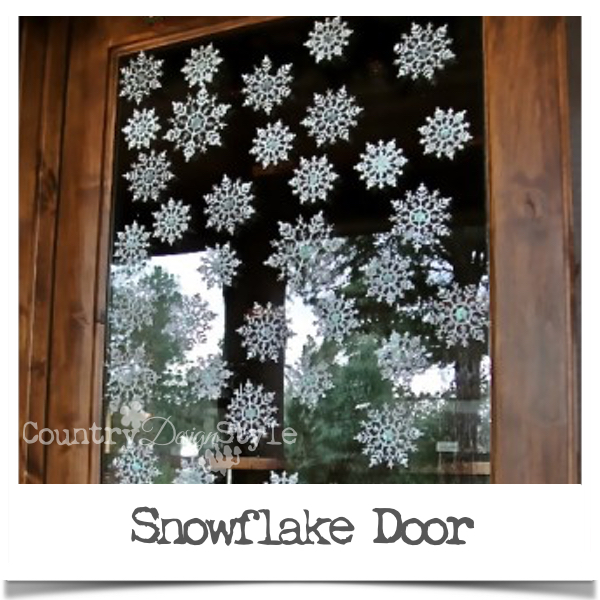 Idea for dollar store snowflakes