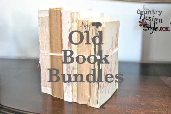 Old book bundles FP